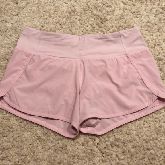 Lululemon Athletica Shorts Light Pink Lululemon Poshmark